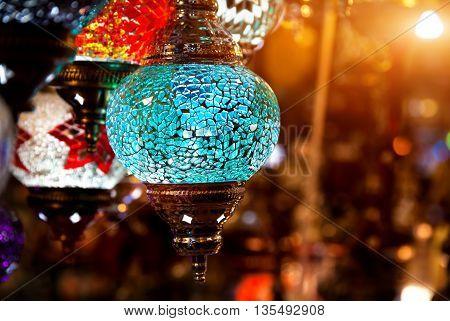 Turkish Colorful Lantern