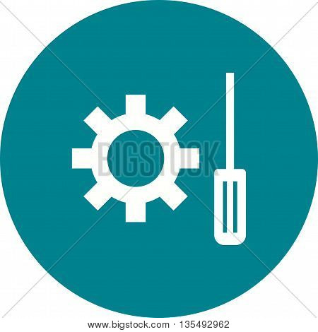 Technical, support, maintenance icon vector image. Can also be used for digital web. Suitable for mobile apps, web apps and print media.