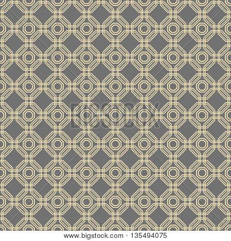 Geometric fine abstract background. Seamless modern pattern
