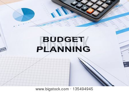 Budget Planning With Financial Chart