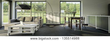 Modern And Spacious Interior