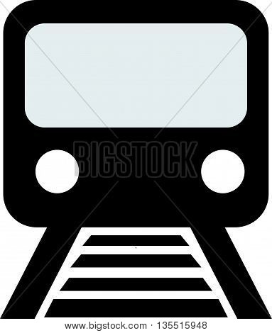 Train outline vector bullet commuter express fast