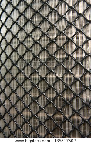 Sieve texture of Air Compressors, For background.
