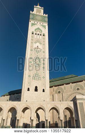 moschea di hassan 2 islamic church on the sea
