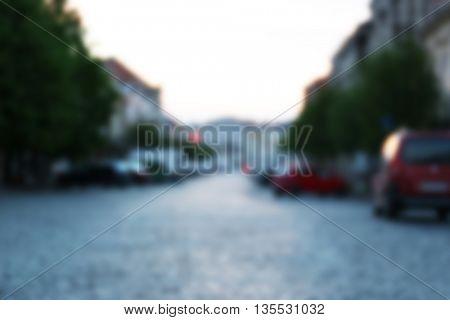 Street in Uzhgorod