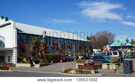 Street View Of Blackheath In Australia