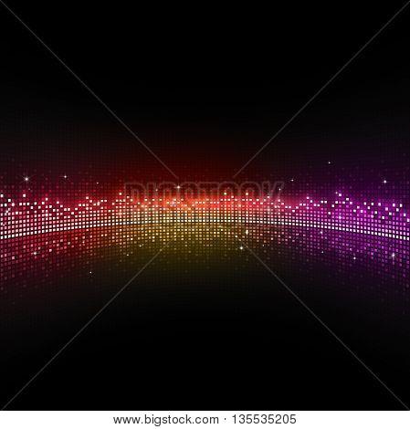 Disco Equalizer Dots