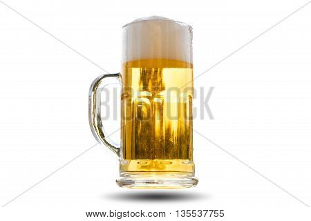 Beer Golden White Bubbles.