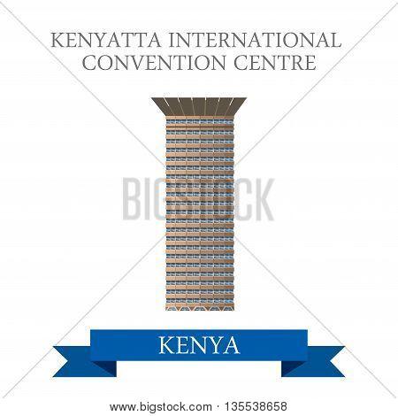 Kenyatta International Convention Centre in Nairobi Kenya