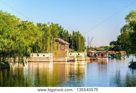 Kunming Lake at the Summer Palace in Beijing - China
