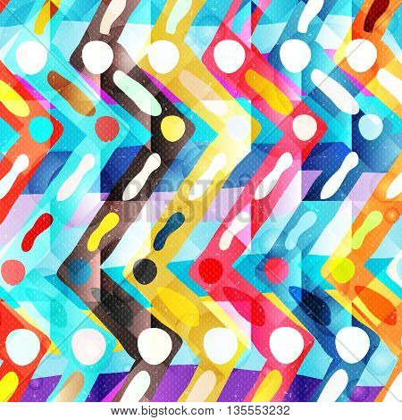 graffiti colored geometrical objects vector illustration abstract high quality