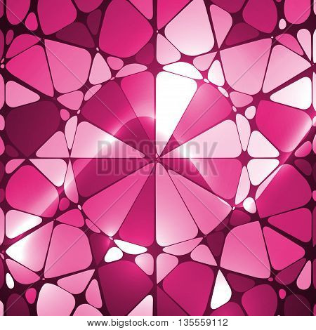Colorful abstract background, creative mosaic illustration, art concept