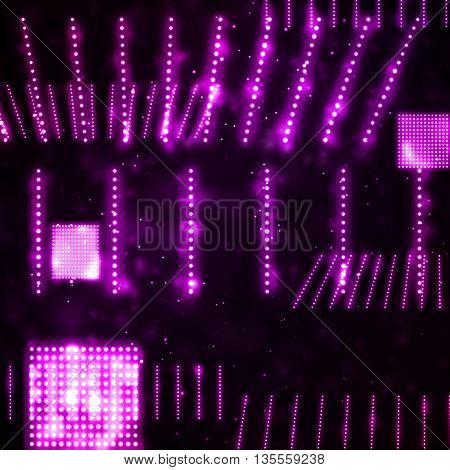 Abstract, creative technology, light neon Illustrations, art concept