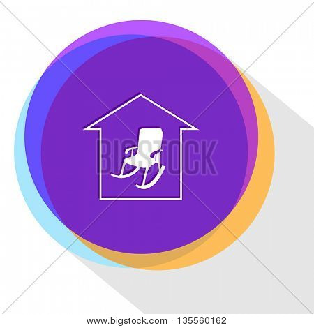 home comfort. Internet template. Vector icon.