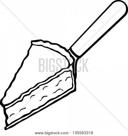 pie server with slice