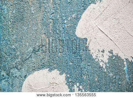 Old Cracked Concrete Wall Texture Background