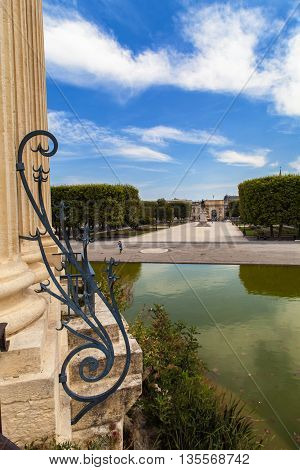 View at Pavillon Peyroux in Montpellier France