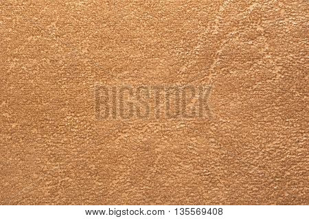 Macro Shot Of A Brown Leather Surface