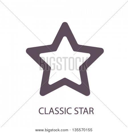 classic star icon