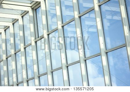 Steel construction. design of glass, metal and plastic.