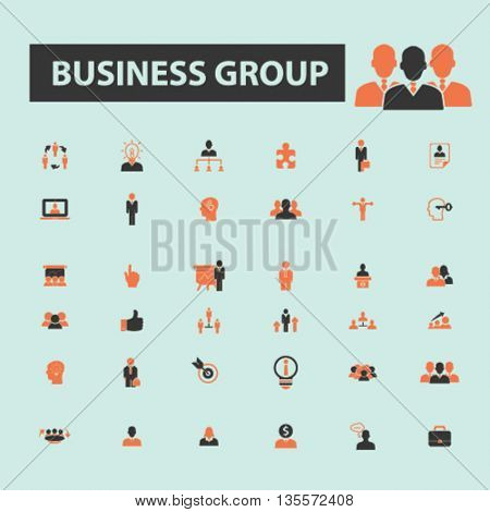 business group icons