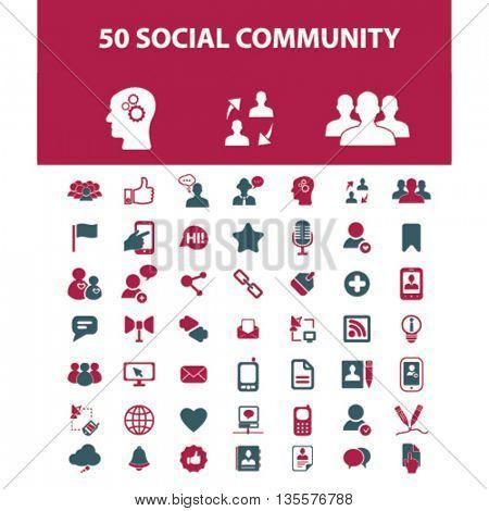 social community icons