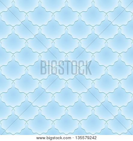 blue pattern seamless  or neutral background - vector illustration