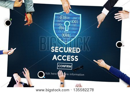 Secured Access Accessibility Analyzing Browsing Concept