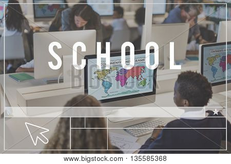School College Educational Knowledge Learning Concept