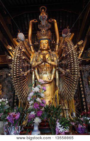 Multi Armed Buddha Statue