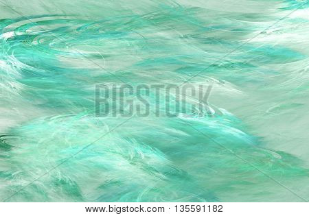 Abstract color dynamic background with lighting effect. Futuristic bright green painting texture for creativity graphic design.