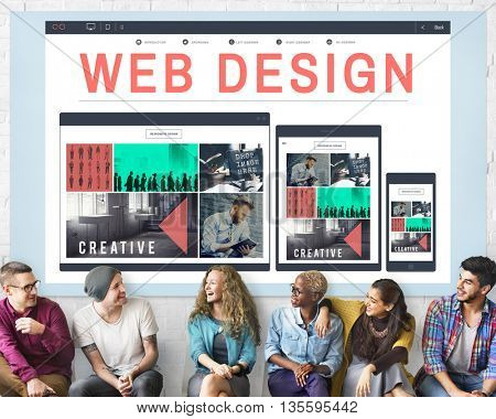 Web Design Technology Browsing Programming Concept