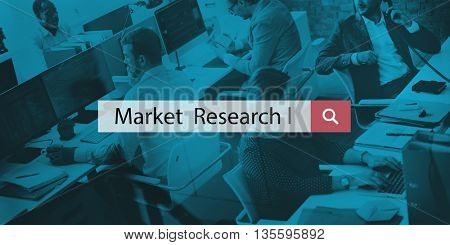 Market Research Consumer Needs Commerce Analysis Concept