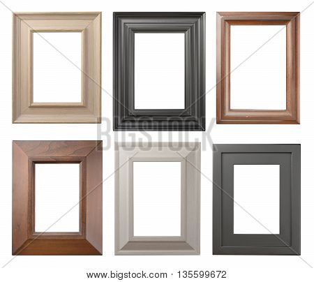 frame set isolated on a white background