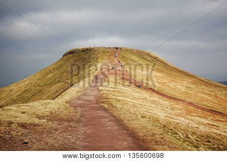 Trail to Summit of Pen y Fan, Brecon Beacons