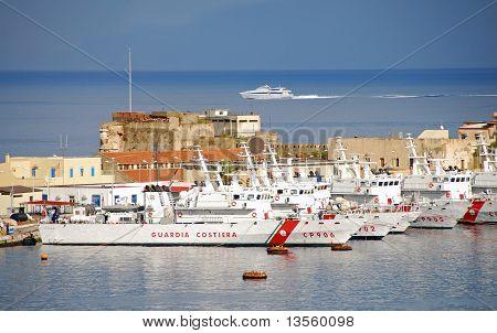 Italian Coast Guard Base