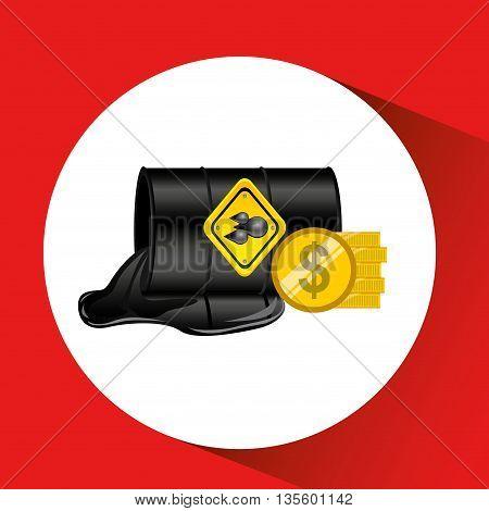 oil industry design, vector illustration eps10 graphic
