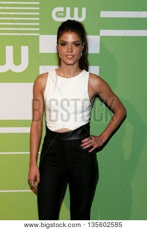 NEW YORK, NY - MAY 14: Actress Marie Avgeropoulos attends the 2015 CW Network Upfront Presentation at the London Hotel on May 14, 2015 in New York City.