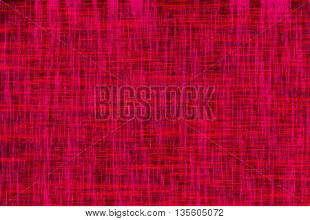Colourful Abstract Fibre Design On A Black Background
