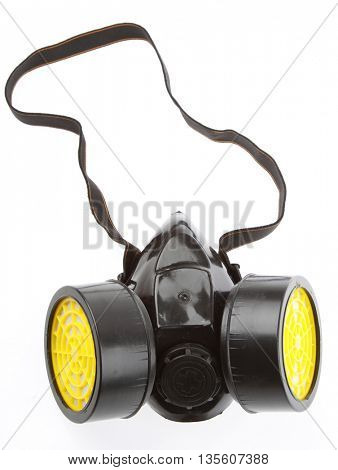Respirator isolated on plain background