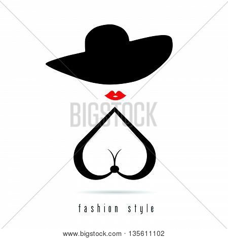 Girl Fashion Style Color Silhouette Illustration