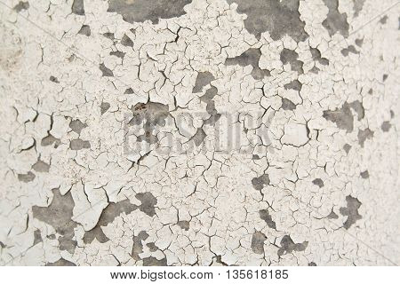 background surface paint off the walls cement
