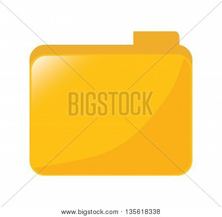 Instrument for planning concept represented by traditional file icon over isolated and flat background