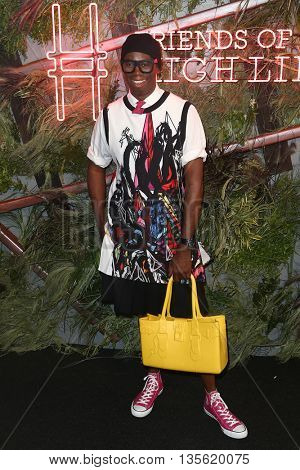 NEW YORK-JUNE 22: J. Alexander attends the 2016 Coach And Friends Of The High Line Summer Party at The High Line on June 22, 2016 in New York City.
