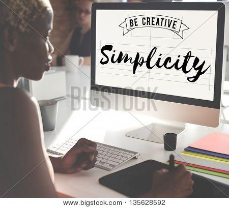 Simplicity Minimal Modern Peace SImple Concept