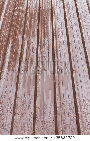 Brown Roof Metal Sheet
