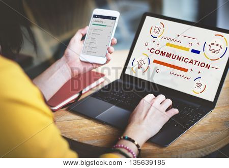 Communication Connection Interaction Information Concept