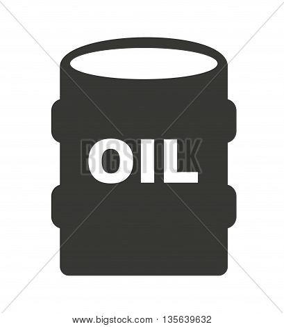 oil barrel isolated icon design, vector illustration  graphic