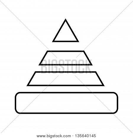 caution cone isolated icon design, vector illustration  graphic