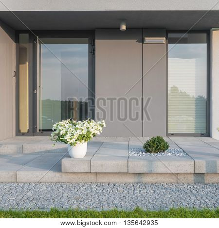 Stylish Home Entrance
